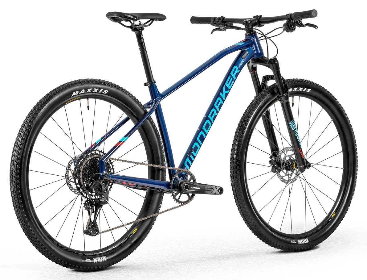 Horské kolo Mondraker Chrono R 29, deep blue/light blue/flame red, 2020