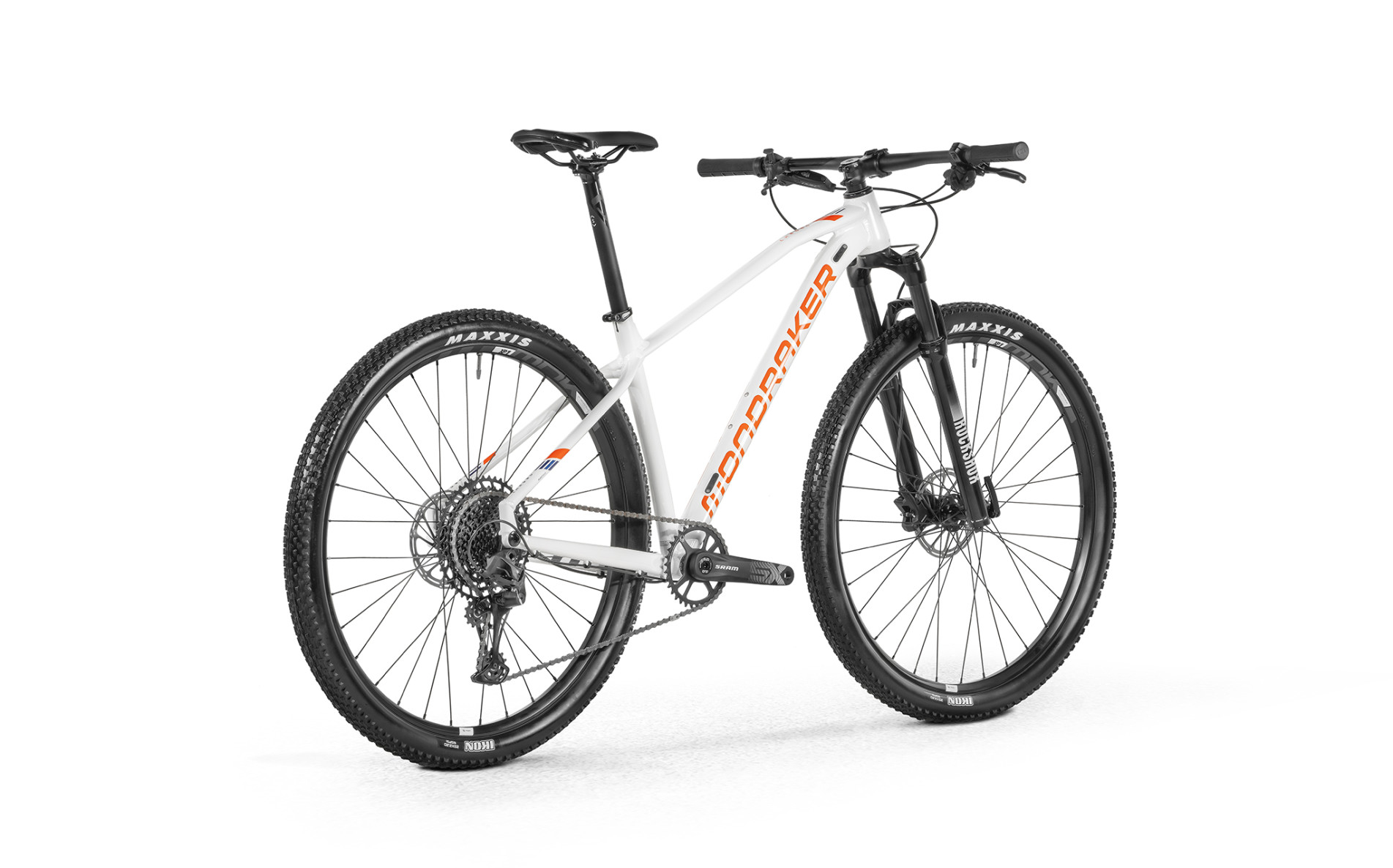 Horské kolo MONDRAKER CHRONO 29, white / orange / blue, 2021