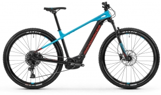 Horské kolo Mondraker Prime 29, black/light blue/flame red, 2020