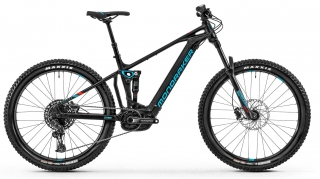 Horské kolo Mondraker Chaser 29, black/light blue/flame red, 2020