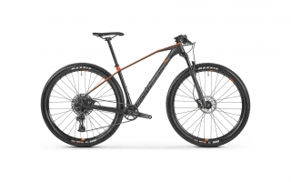 Horské kolo MONDRAKER CHRONO CARBON, carbon / orange /grey, 2021